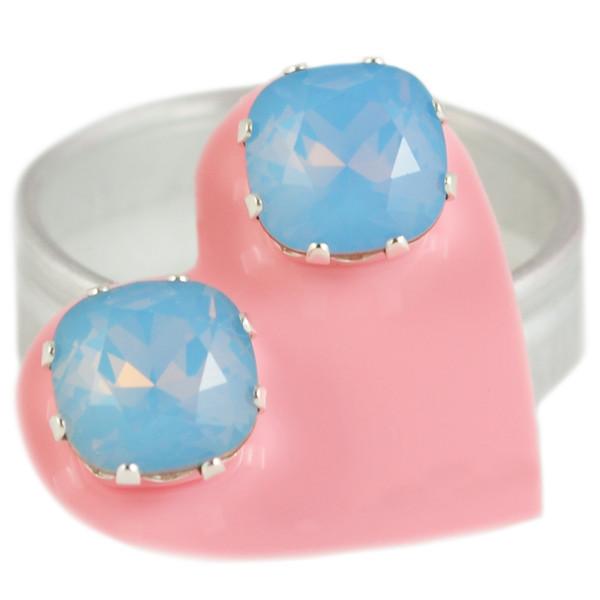 Blue Opal Mega Cushion Bling