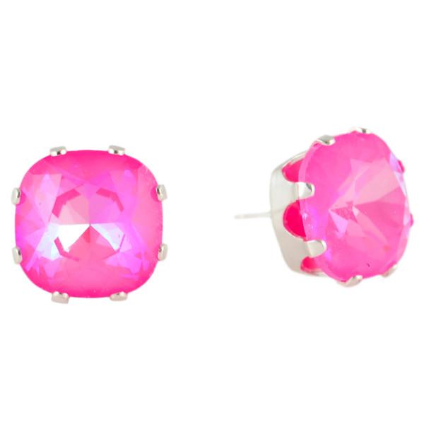 Neon Pink Mega Cushion Bling