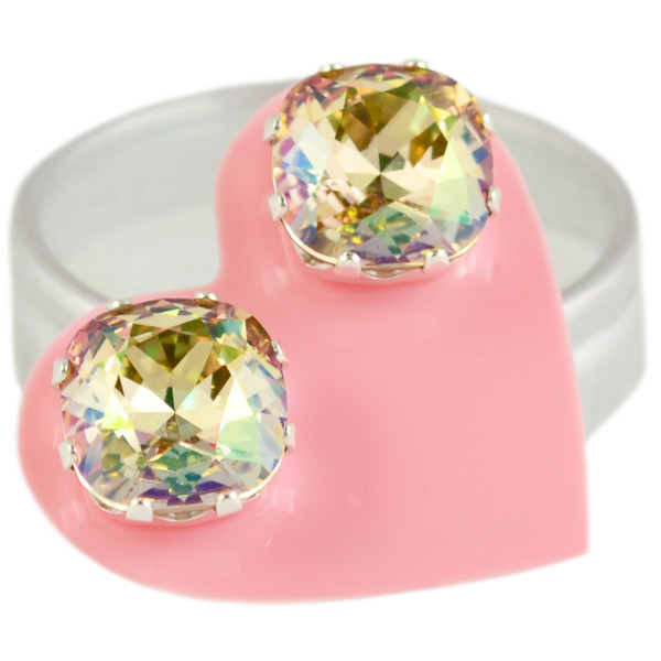 Topaz with Pink Mega Cushion Bling