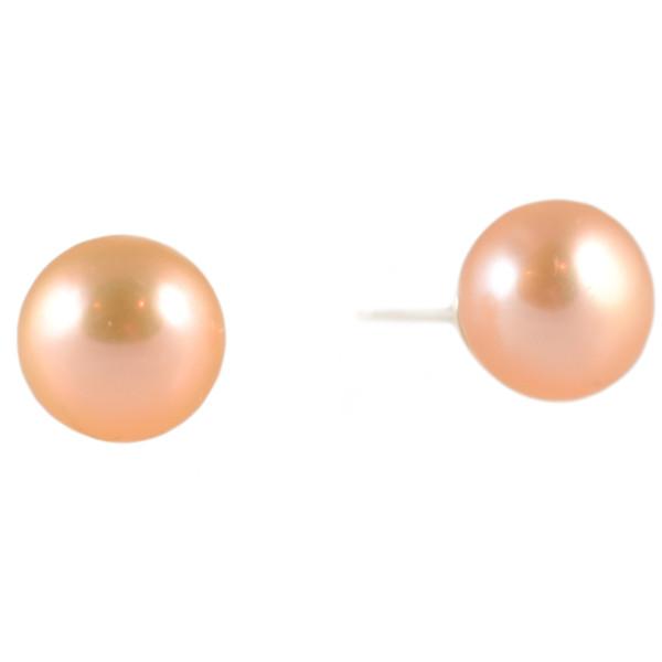 Peach Luster Pearl Mini Bling