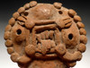 PC204 -  RARE PLAYABLE PRE-COLUMBIAN FOUR-HOLE FLUTE WITH ELABORATE DESIGNS