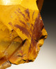 M357 - RARE YELLOW JASPER NEANDERTHAL MOUSTERIAN HANDAXE BIFACE FROM FAMOUS FONTMAURE SITE IN FRANCE