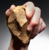 LOWER PALEOLITHIC OLDOWAN PEBBLE CHOPPER AXE - EARLIEST HUMAN ARTIFACT *PB132