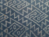 RARE BLUE PRE-COLUMBIAN ANCIENT TEXTILE CLOTH BIRD PATTERN *PCT002