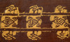 TWO FORMER MUSEUM CHIMU AND CHANCAY PRE-COLUMBIAN ANCIENT TEXTILES CLOTHS FROM SOUTH AMERICA *PCT016