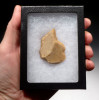 MOUSTERIAN NEANDERTHAL ENGRAVER FLAKE TOOL FOR MAKING PREHISTORIC ART FROM FRANCE  *M403