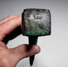 LARGE LURISTAN ANCIENT BRONZE BATTLE AXE WITH SUPERB COLOR PATINA FOR HEAVY INFANTRY   *LUR176