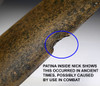 FINEST ANCIENT IRISH CELTIC BRONZE FLANGE-HILTED SWORD FROM LATE BRONZE AGE IRELAND  *CEL020