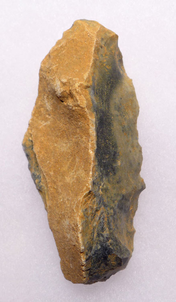 M302 - FLINT NEANDERTHAL MOUSTERIAN NATURALLY BACKED KNIFE FROM FRANCE