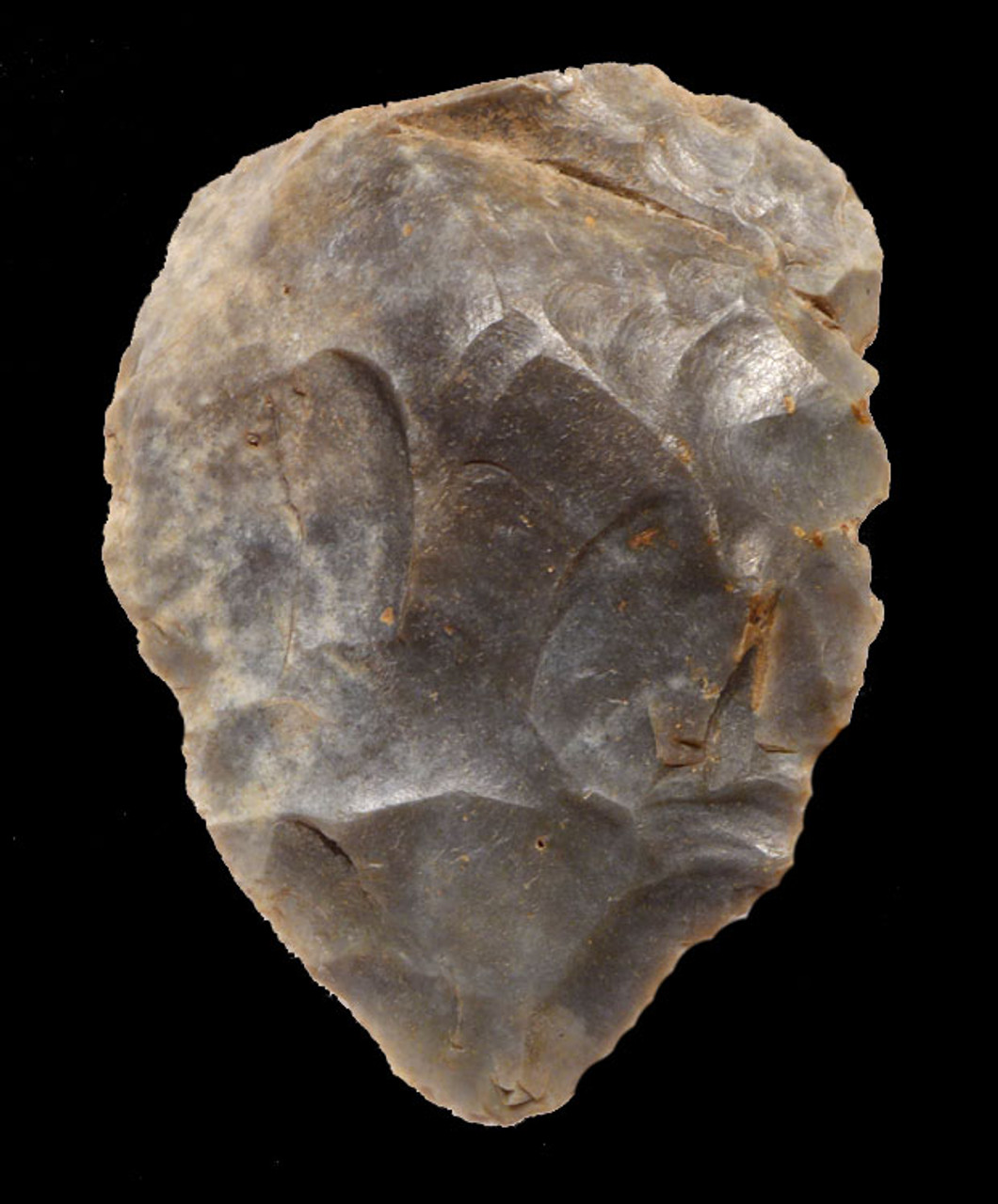 M332 - MAGNIFICENT NEANDERTHAL MOUSTERIAN FLINT CORDIFORM HANDAXE FROM FRANCE