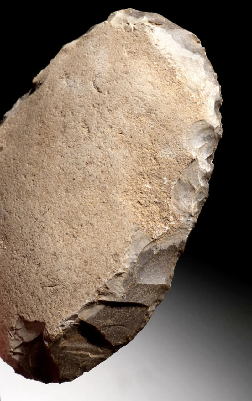 N168 - LARGE PERFECT TONGUE-SHAPED EUROPEAN NEOLITHIC FLAKE SCRAPER