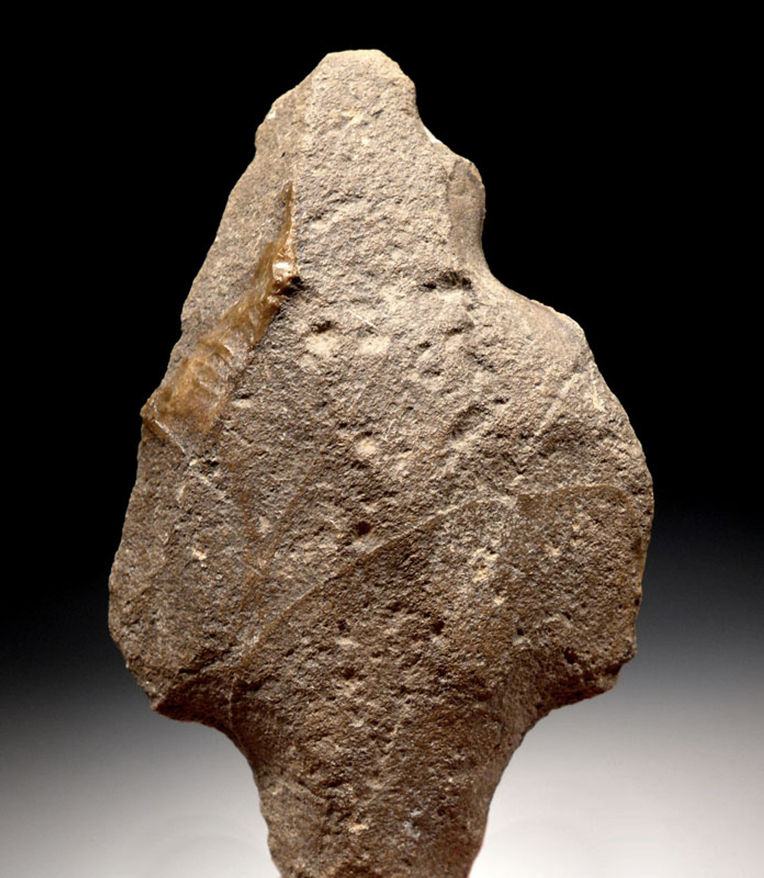 AT089 - LARGE MIDDLE PALEOLITHIC ATERIAN TANGED POINT - OLDEST TYPE ARROWHEAD