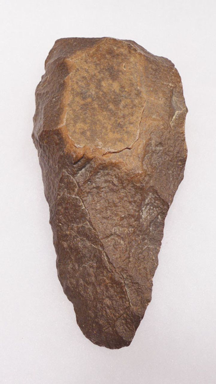 ACH236 - PREHISTORIC STONE AGE ACHEULIAN HANDAXE OF EXCEPTIONAL WORKMANSHIP MADE BY HOMO ERGASTER (ERECTUS)