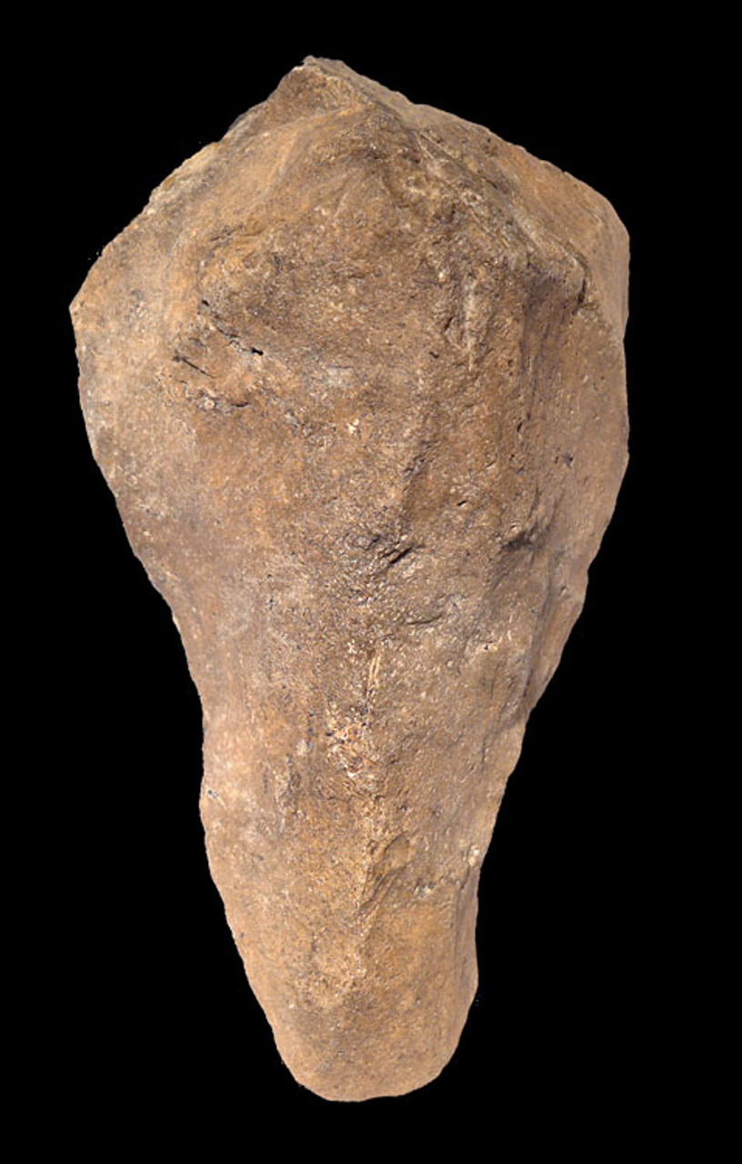 ACH242 - LOWER PALEOLITHIC ACHEULIAN TRIHEDRAL PICK HAND AXE MADE BY HOMO ERECTUS (ERGASTER)