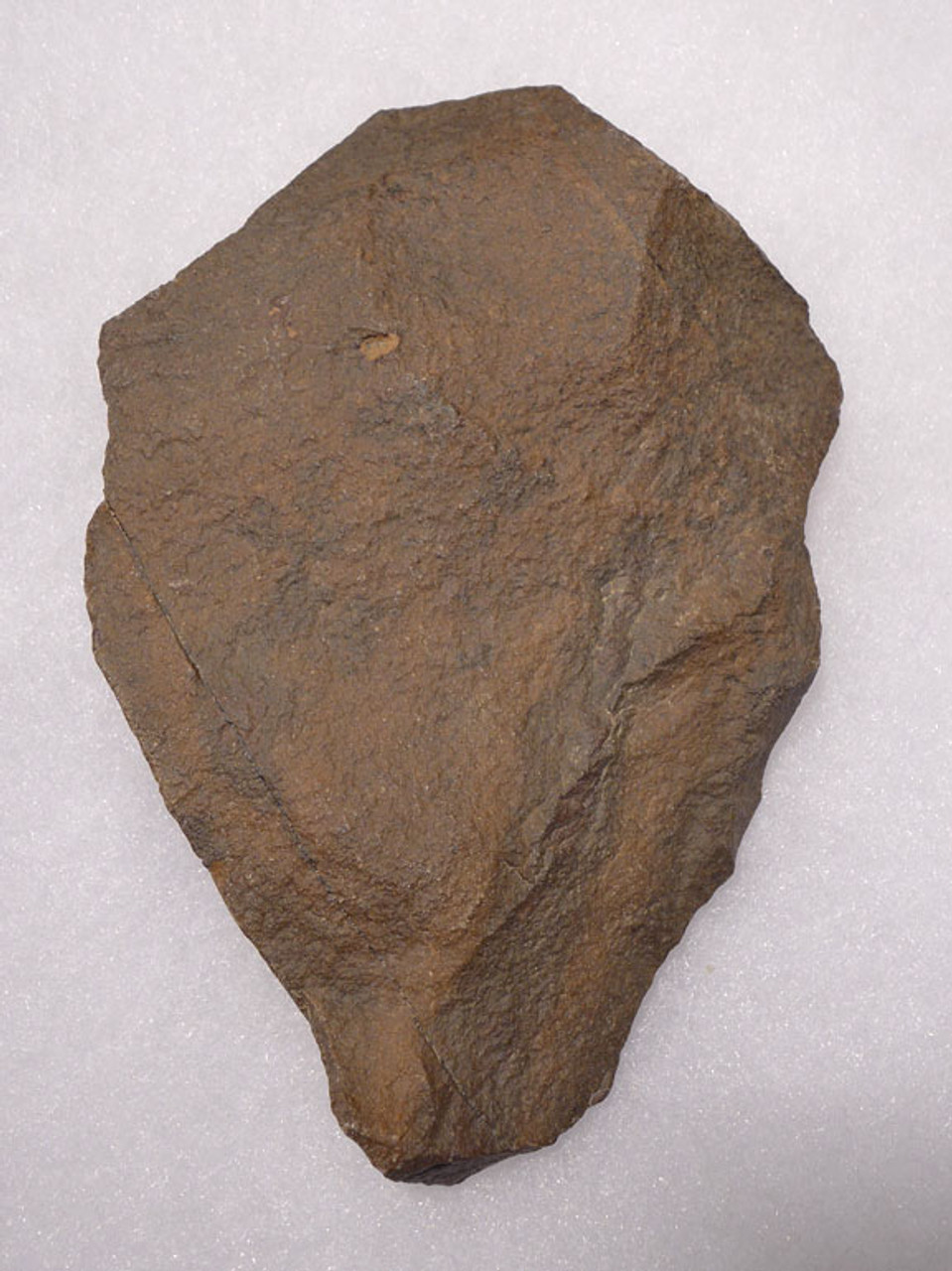 ACH239  - ACHEULIAN QUARTZITE HANDAXE MADE BY HOMO ERGASTER WITH ATTRACTIVE PATINA COLORS