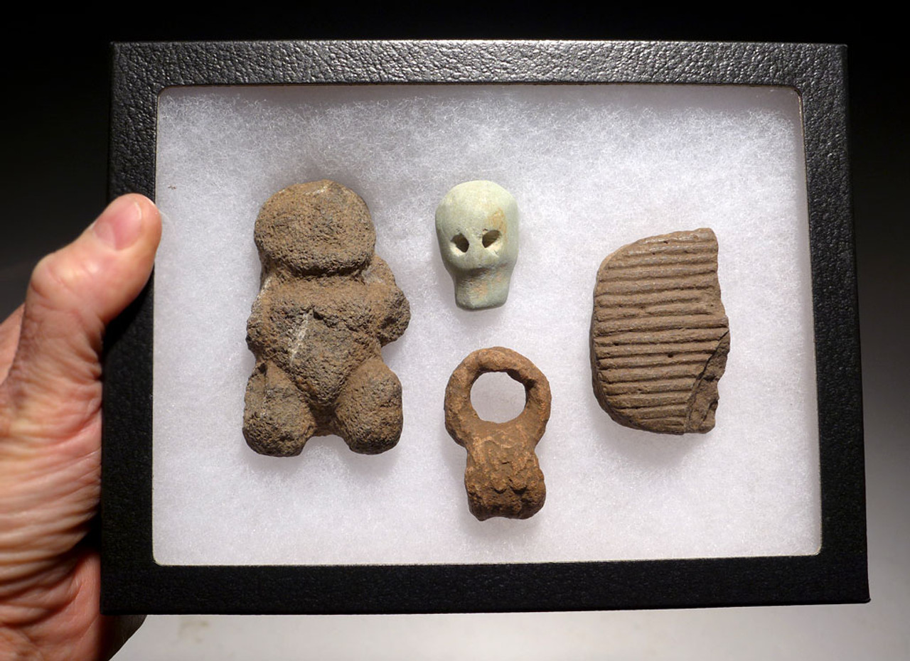 PC254  - PRE-COLUMBIAN MEZCALA  ARTIFACT SET FROM MEXICO