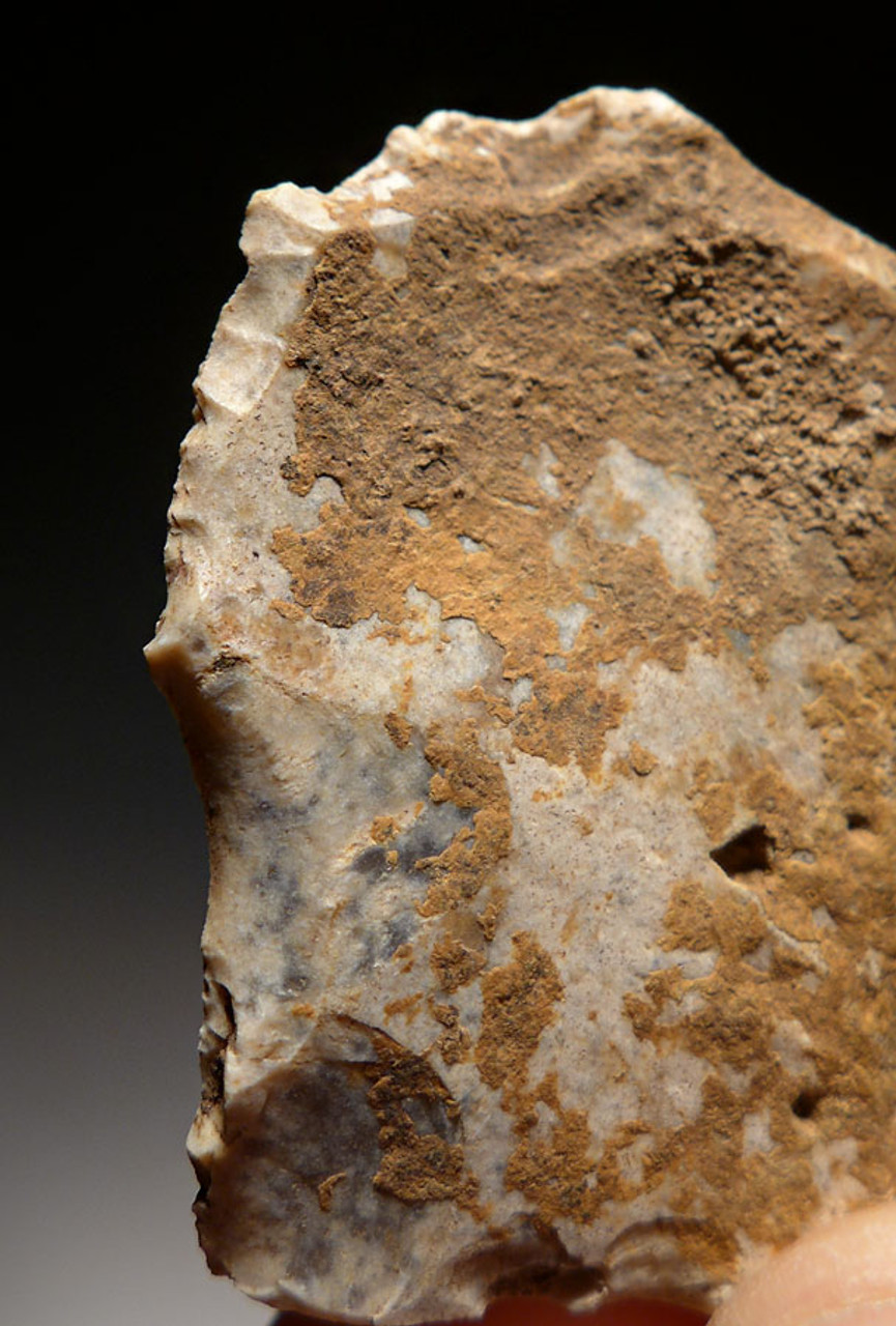 M378 - MOUSTERIAN NEANDERTHAL SIDE SCRAPER FLAKE TOOL FROM FRANCE