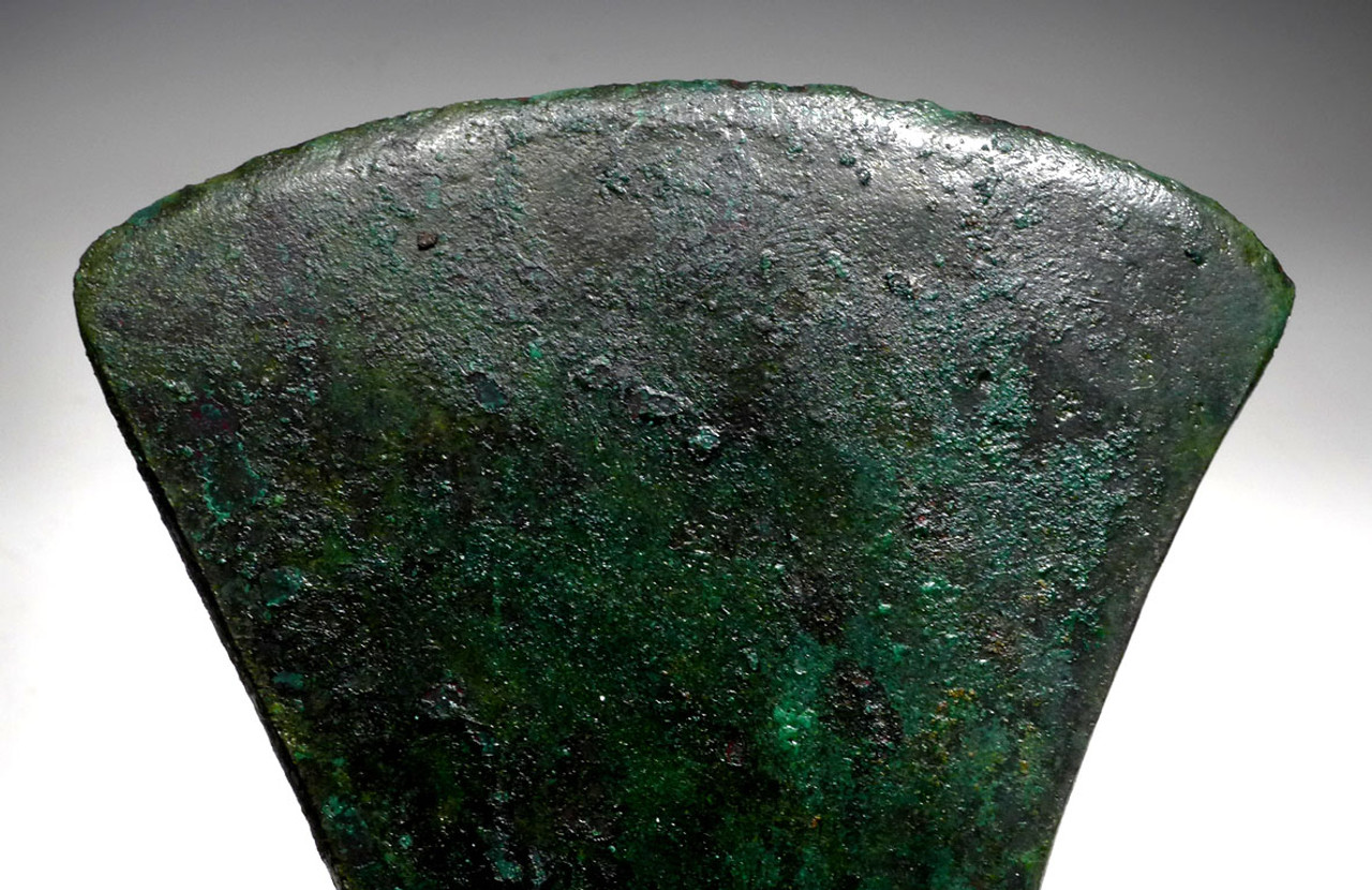 NE169 - MASSIVE ANCIENT BRONZE NEAR EASTERN LURISTAN HEAVY INFANTRY WAR AXE
