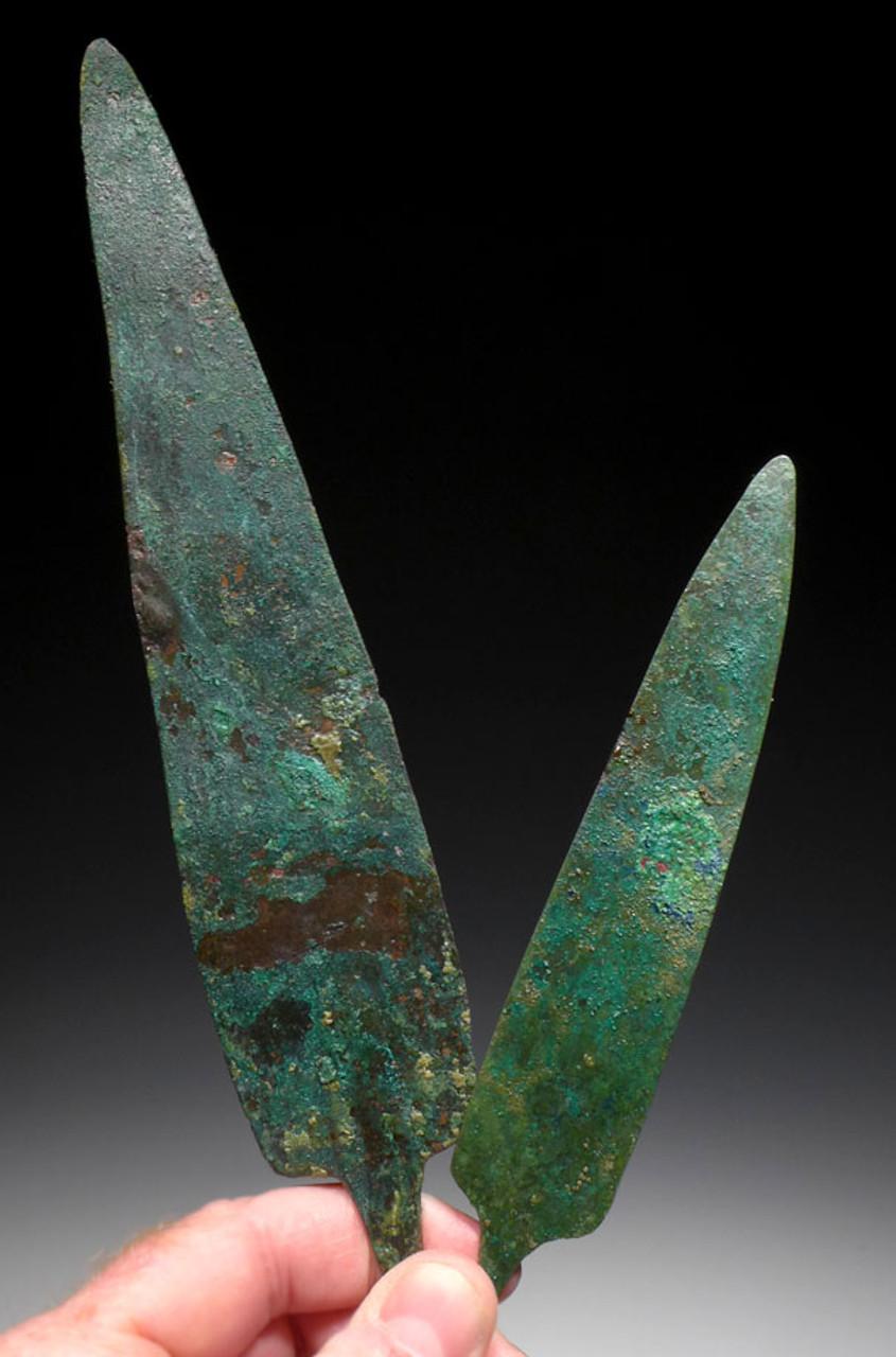 NE171 - ANCIENT LURISTAN NEAR EASTERN BRONZE KNIFE SET