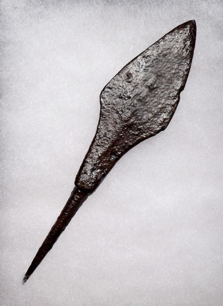 R147 - CHOICE ROMAN IRON ARROWHEAD FROM THE BYZANTINE ERA