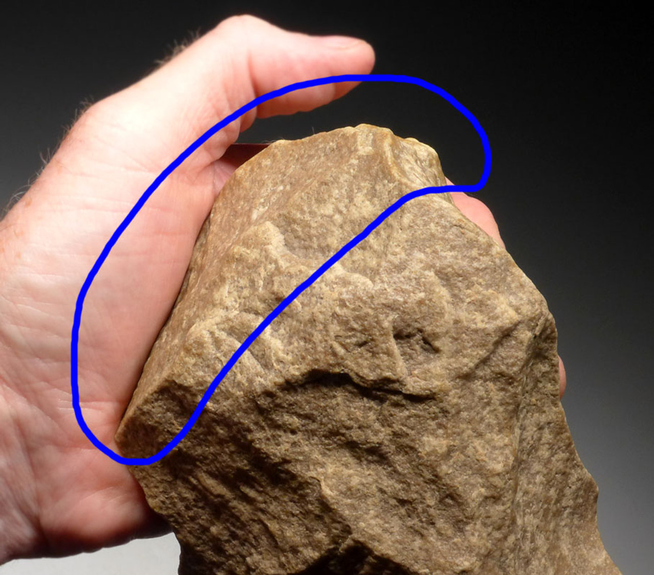 ACH247 - ENORMOUS MUSEUM GRADE MASTERPIECE AFRICAN ACHEULEAN HAND AXE FOR LARGE GAME BUTCHERING AND PRESTIGE