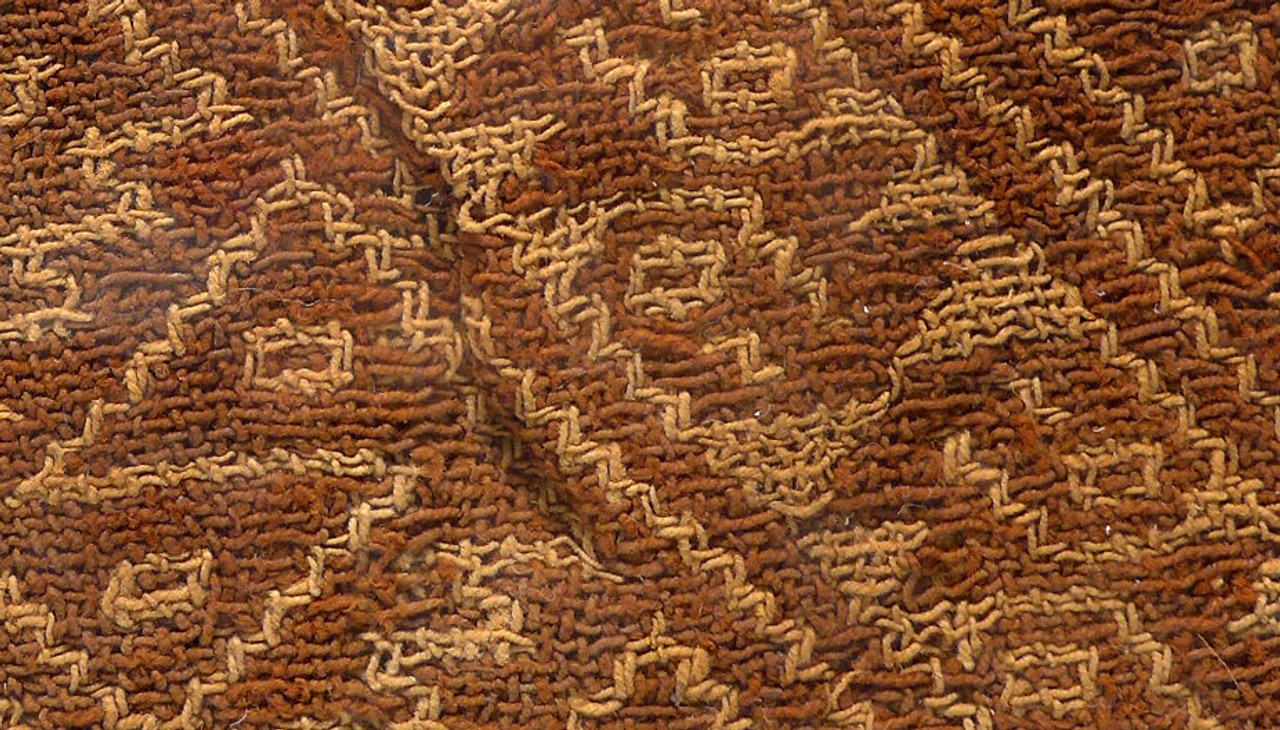 PCT013 - EX-MUSEUM PRE-COLUMBIAN ANCIENT TEXTILE WITH GEOMETRIC DESIGNS AND ORIGINAL PIGMENT
