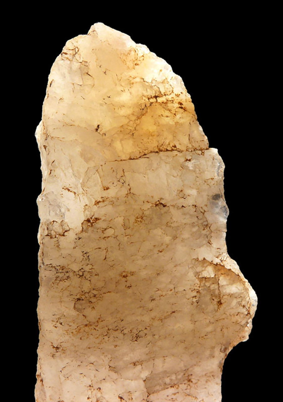 M399 - EXTREMELY RARE CRYSTAL QUARTZ NEANDERTHAL MOUSTERIAN PRESTIGE FLAKE KNIFE FROM FRANCE