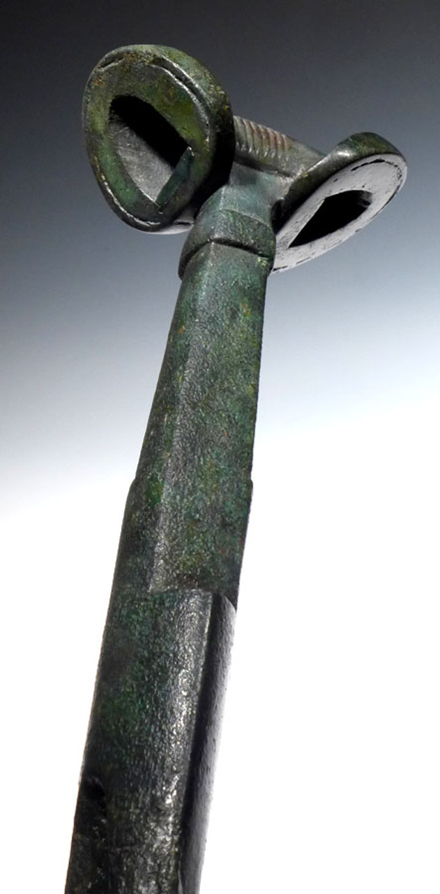 LUR096 - LARGEST KNOWN SWORD OF A NOBLEMAN OF THE ANCIENT BRONZE NEAR EASTERN LURISTAN CULTURE