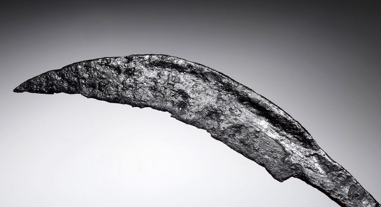 ANCIENT CELTIC IRON KNIFE MACHAIRA DAGGER *R183