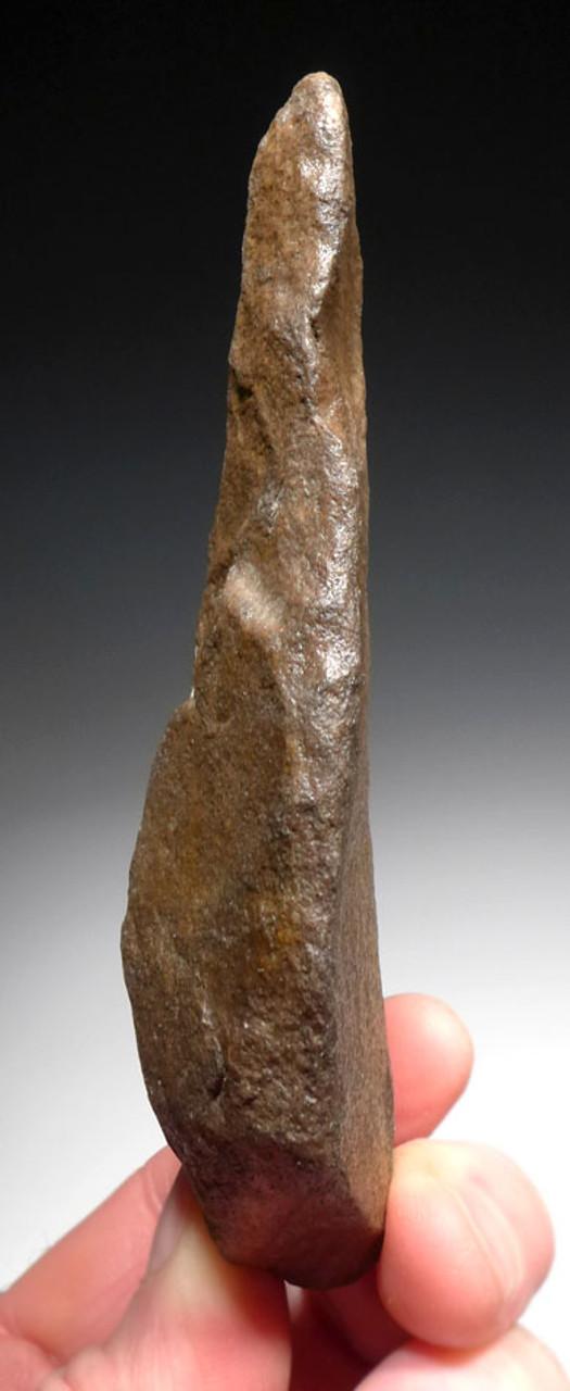 RARE LOWER PALEOLITHIC STONE ACHEULIAN KNIFE MADE BY HOMO ERGASTER (ERECTUS) *ACH267