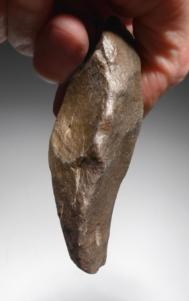 LOWER PALEOLITHIC ACHEULIAN QUARTZITE HAND AXE FROM AFRICA MADE BY HOMO ERGASTER *ACH262