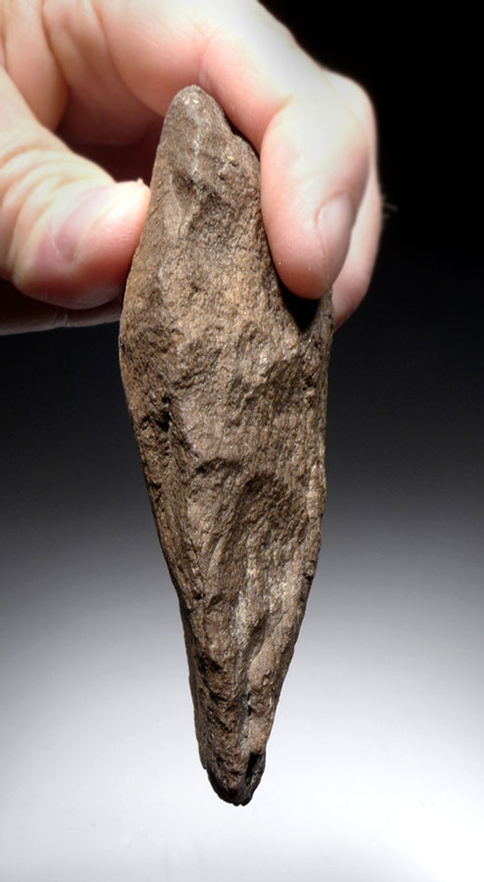 SUPERB RARE KOMBEWA FLAKE AFRICAN ACHEULIAN CLEAVER HANDAXE OF EXCEPTIONAL WORKMANSHIP *ACH252