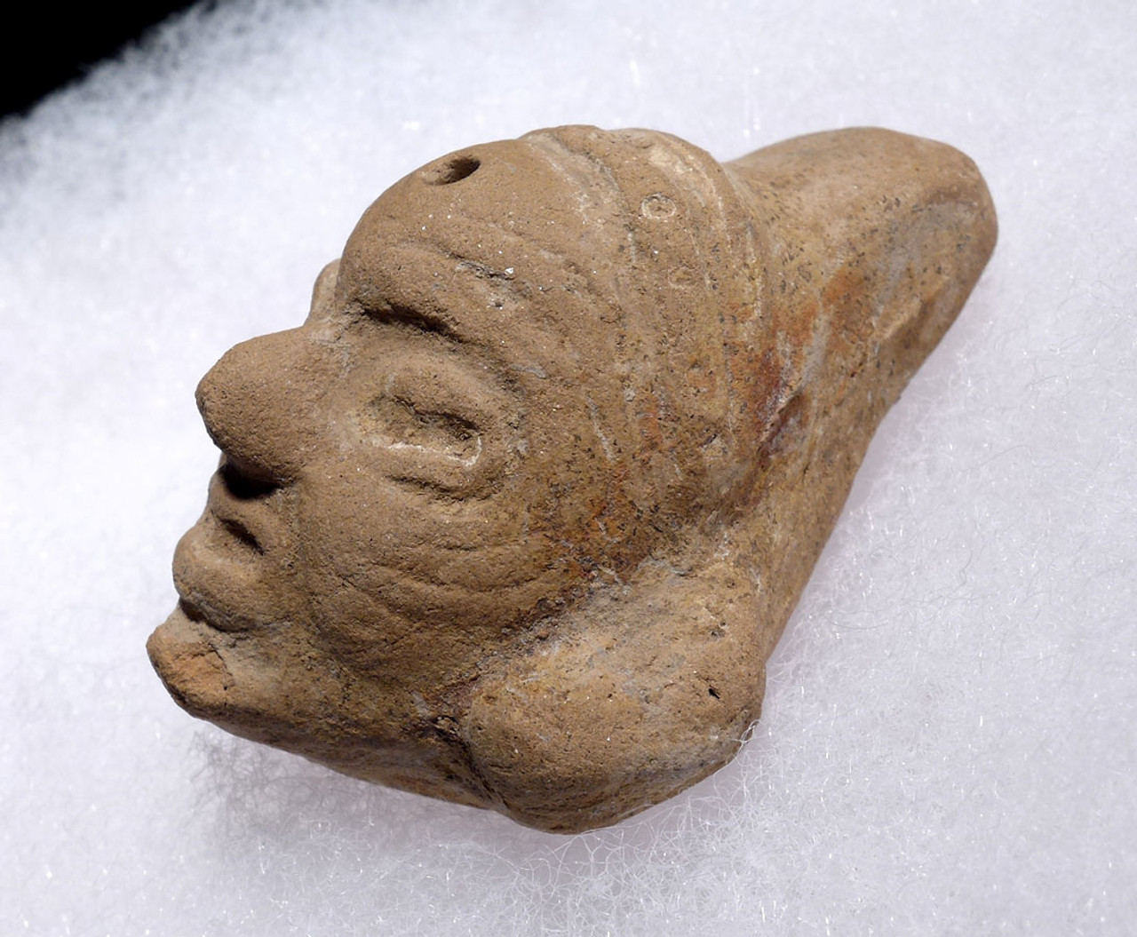 PRE-COLUMBIAN MAYAN POTTERY WHISTLE