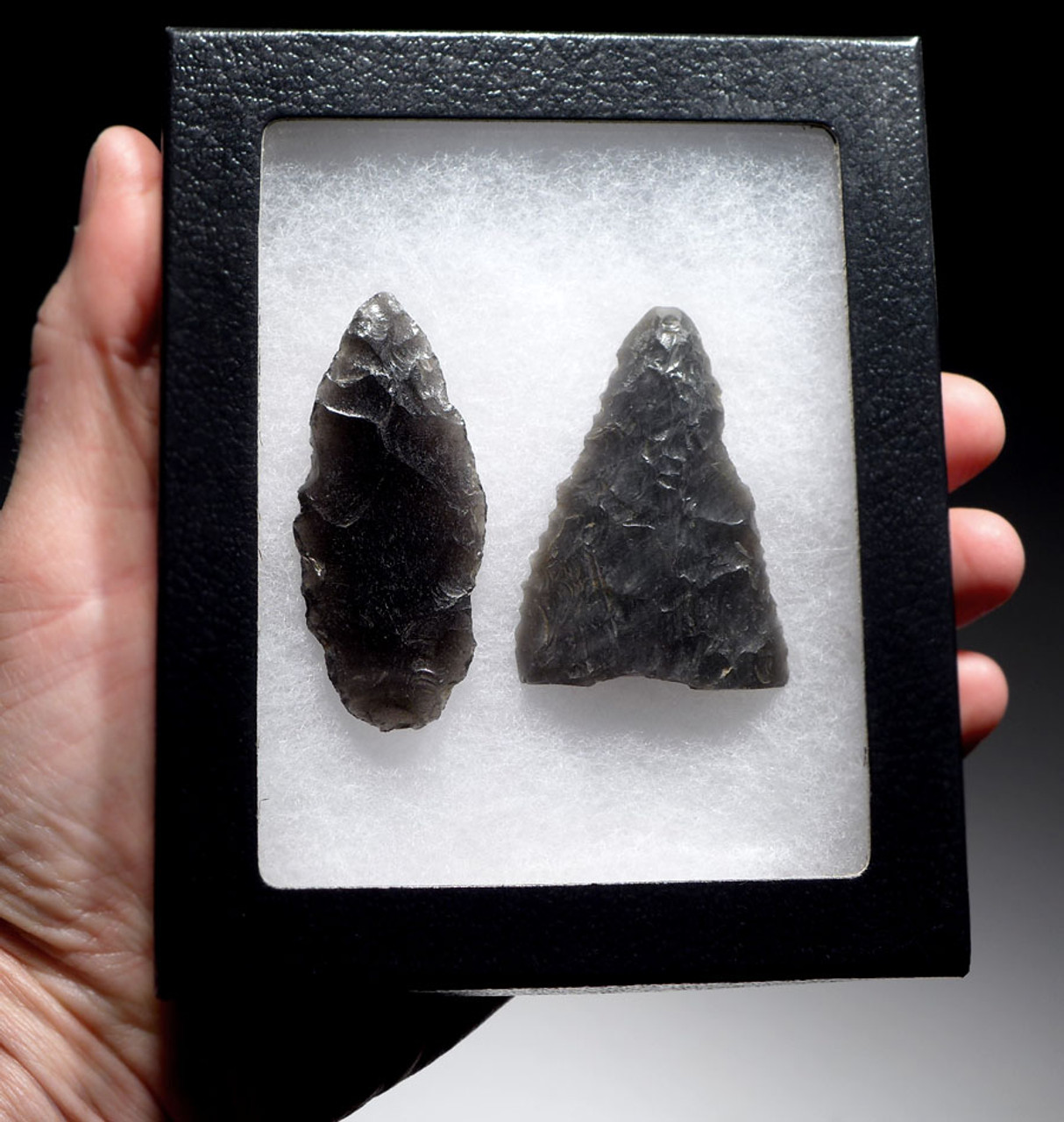 PRE-COLUMBIAN OBSIDIAN WEAPONS
