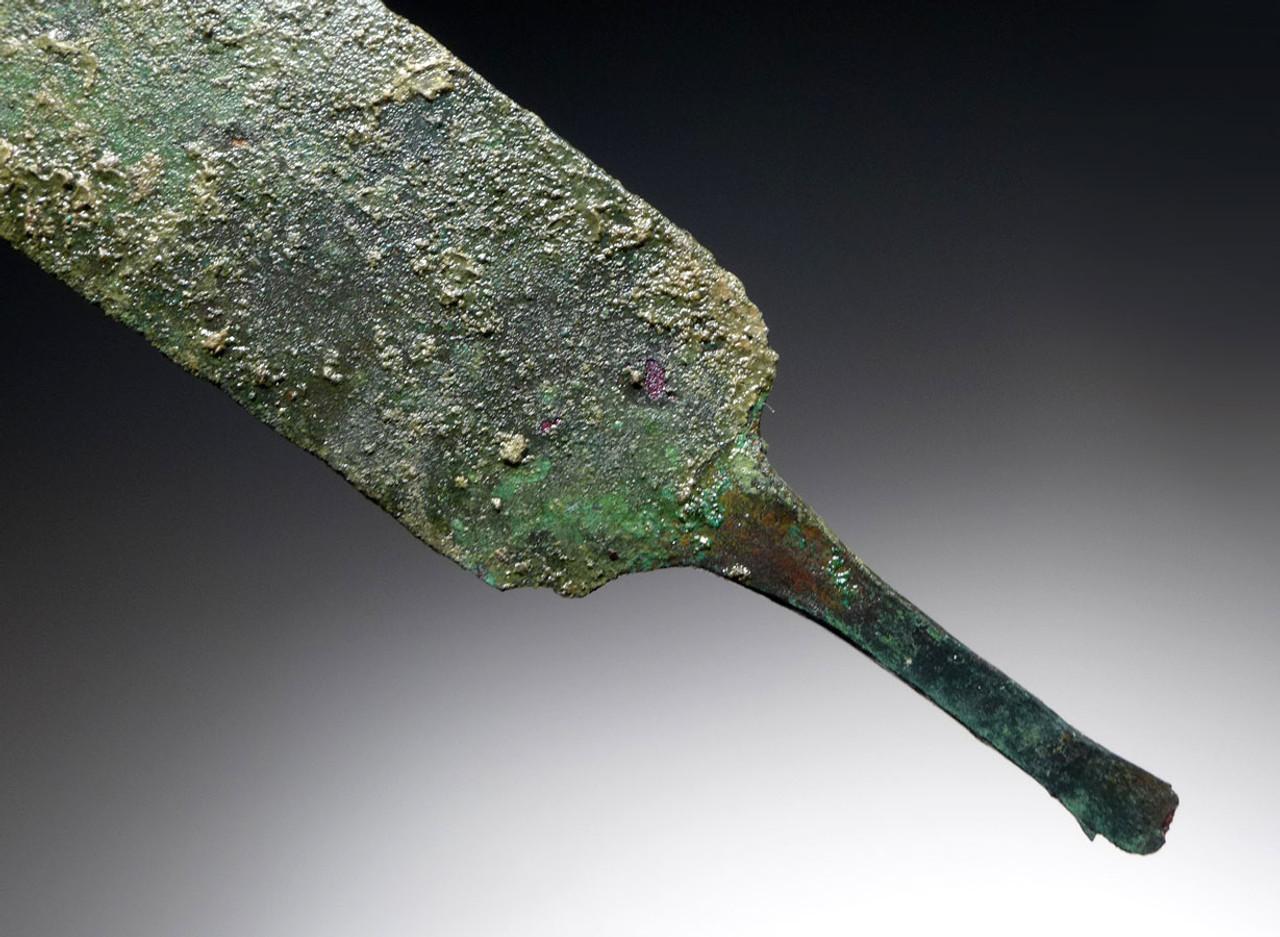 NARROW ANCIENT LURISTAN BRONZE KNIFE DAGGER *LUR124