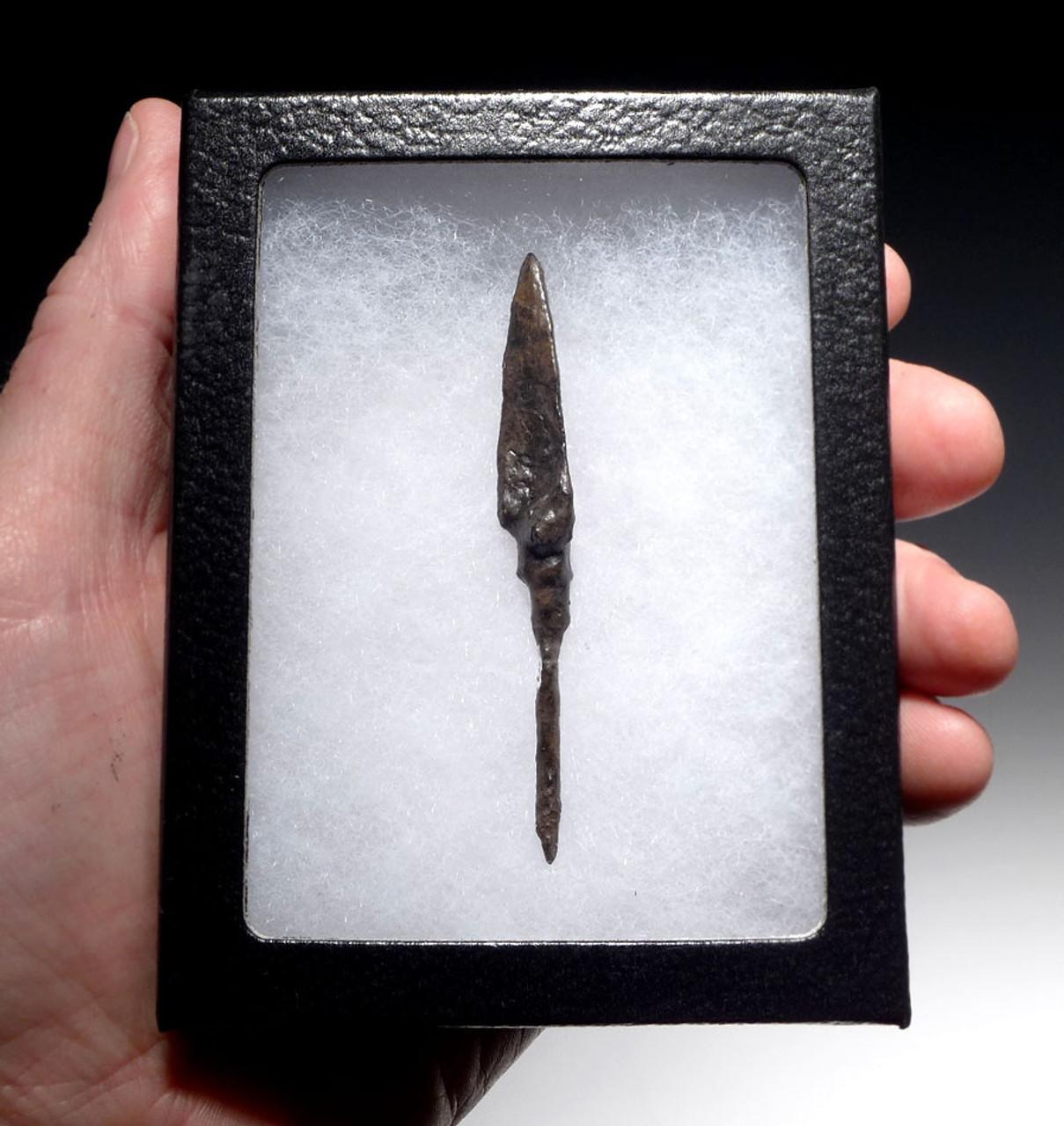 ANCIENT TRILOBE BYZANTINE ROMAN IRON ARROWHEAD FOR PENETRATING ARMOR *R204