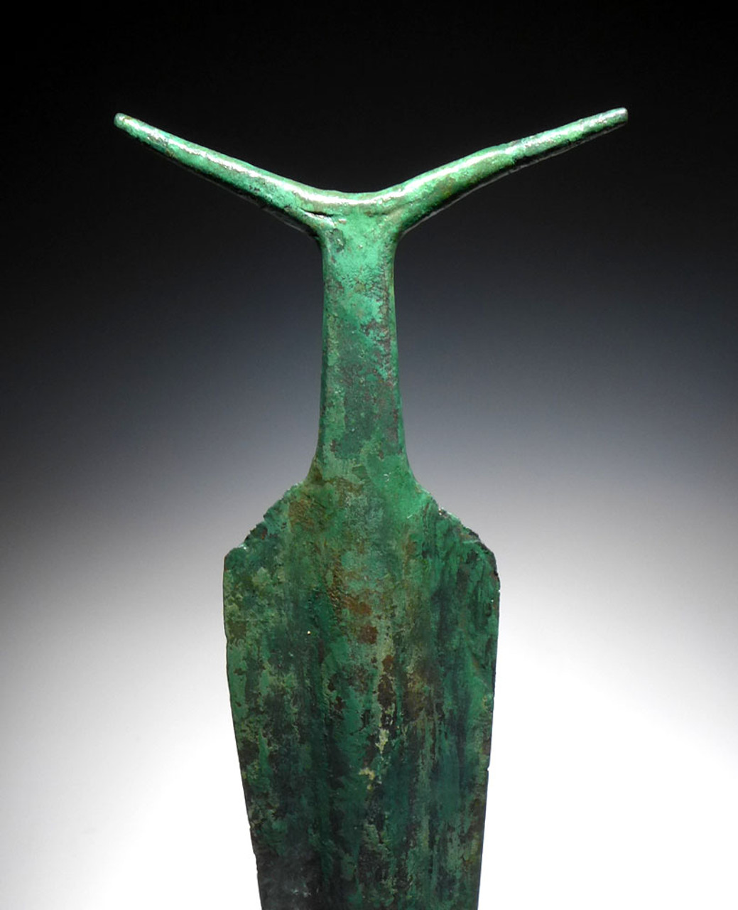 EXTREMELY RARE ANCIENT COPPER ANTENNA SWORD FROM THE HARAPPAN CULTURE  *LUR129