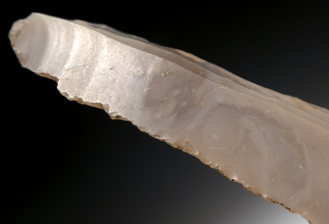 PAIR OF FLINT DANISH NEOLITHIC STONE KNIFE BLADES *N176