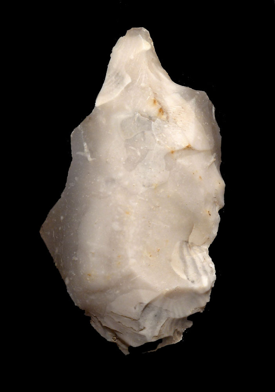 NICE ROBUST FLINT NEOLITHIC DRILL FLAKE TOOL FROM THE FUNNEL-NECKED BEAKER CULTURE OF DENMARK *N179