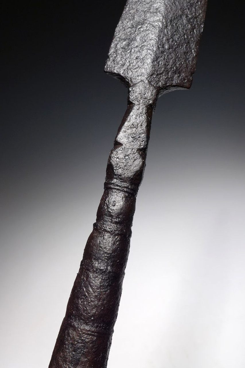 UMAYYAD ANCIENT IRON THROWING JAVELIN SPEARHEAD FROM THE EARLY ISLAMIC ENEMY OF THE BYZANTINE ROMAN EMPIRE *BYZR027