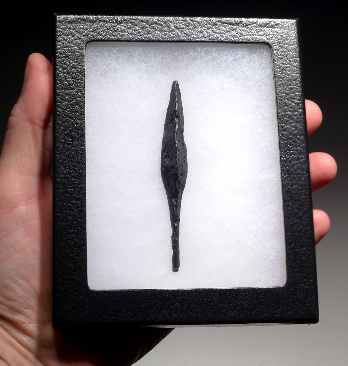 EXCEPTIONALLY LARGE HEAVY ROMAN BYZANTINE ANCIENT ARMOR-PIERCING IRON ARROWHEAD WITH FINEST PRESERVATION *R212