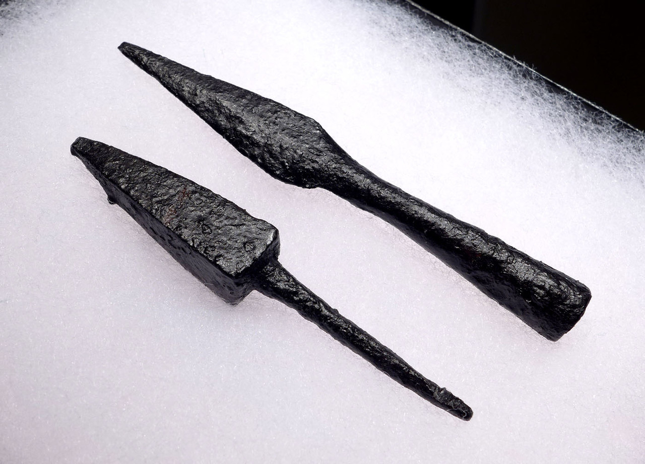 ANCIENT MOUNTED ARCHERY ROMAN ARROWHEADS