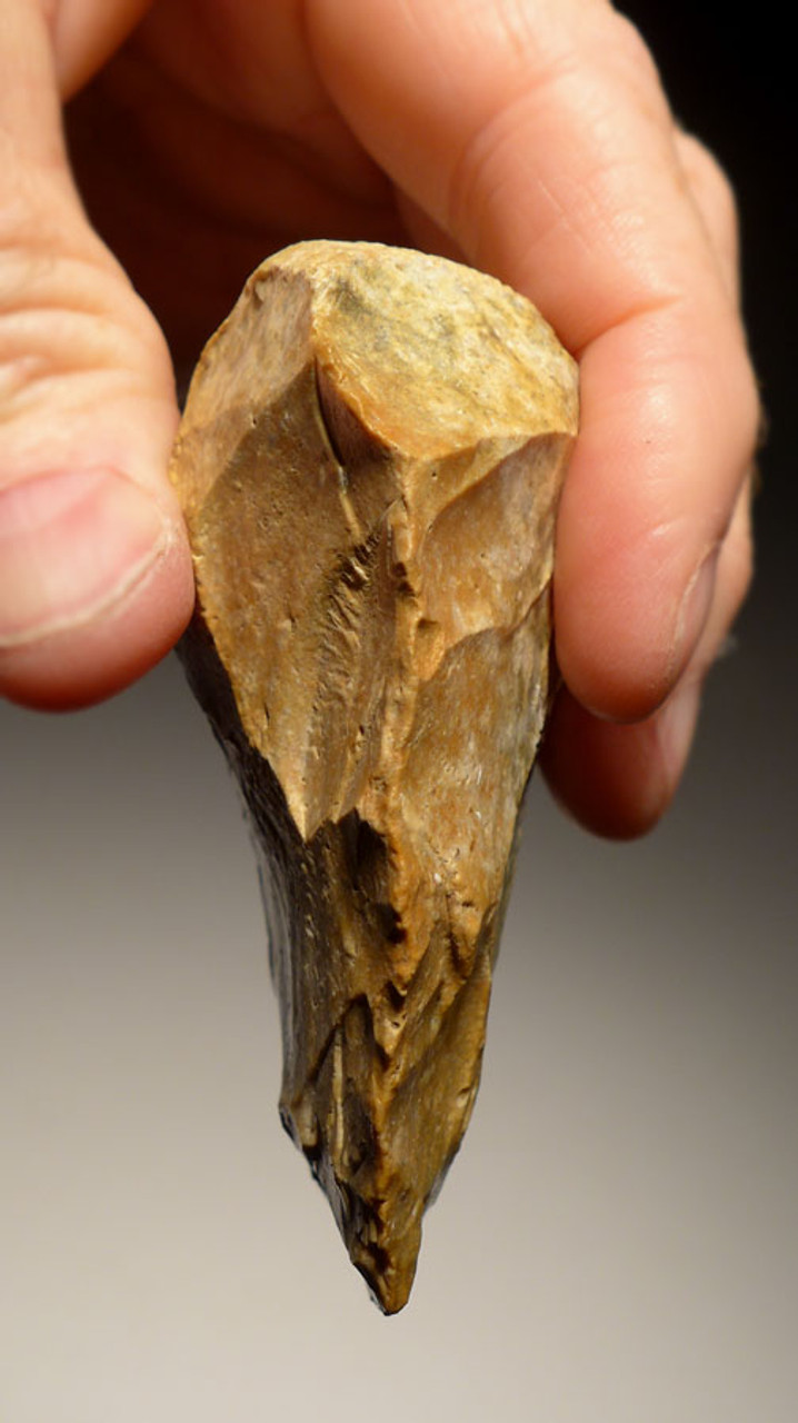 EXCEPTIONAL NEANDERTHAL MOUSTERIAN FLINT CORDIFORM HANDAXE FROM FRANCE *M356
