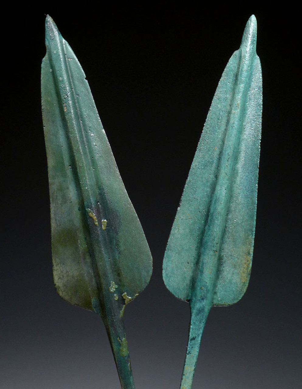 TWO CHOICE ANCIENT ARMOR-PIERCING JAVELIN SPEARHEADS FROM THE LURISTAN CULTURE *NEPC013