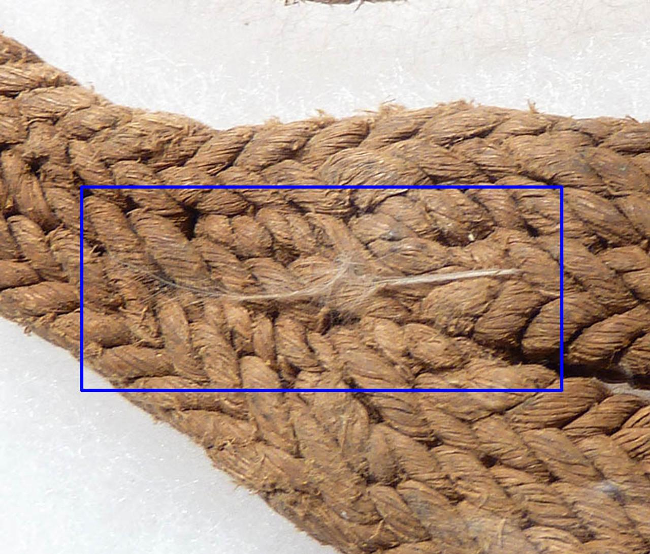 EX-MUSEUM PRE-COLUMBIAN ANCIENT TEXTILE SLING TUMPLINE *PC027