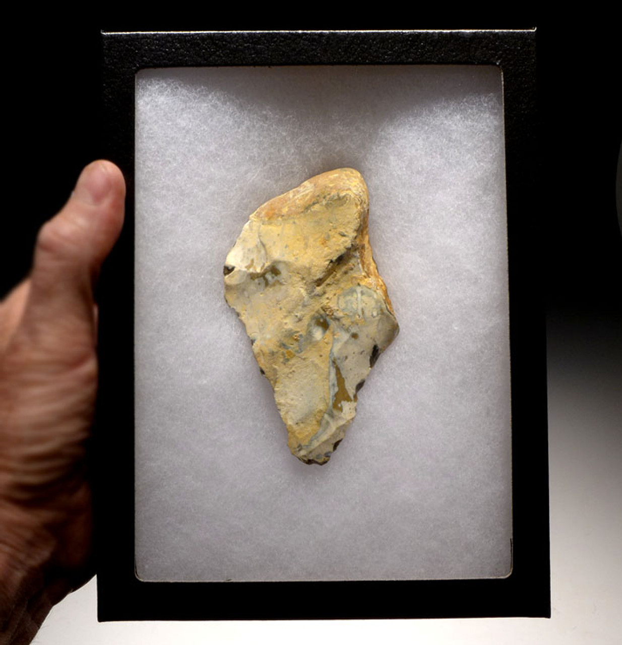 HOMO ERECTUS EARLY MAN HAND AXE FROM FRANCE FROM EUROPE'S FIRST HUMANS *ACH209