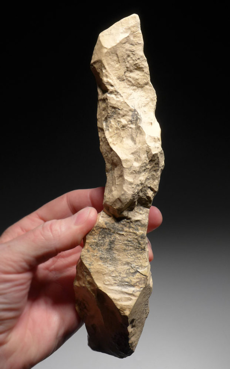 LARGE AFRICAN NEOLITHIC FLINT PICK FROM THE CAPSIAN CULTURE *CAP219