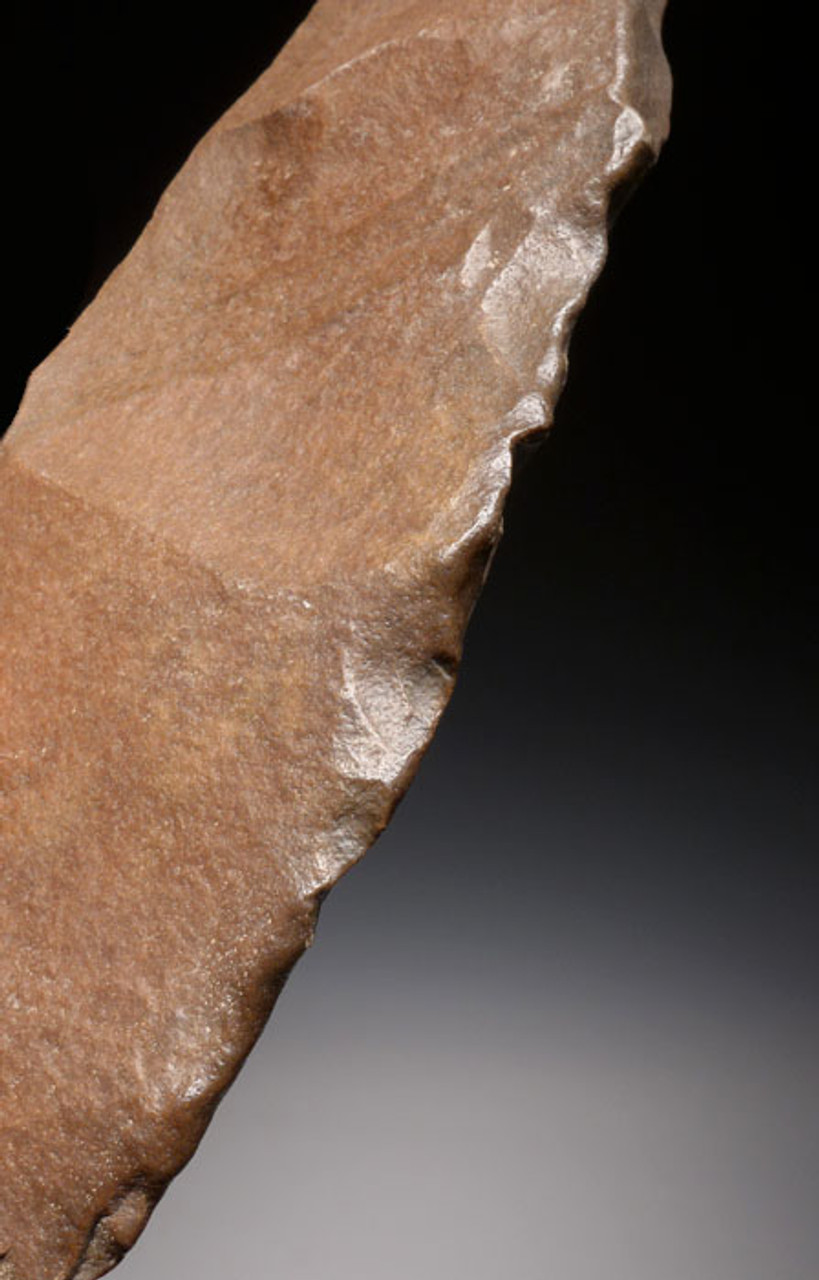 LARGE EXCEPTIONAL PREHISTORIC STONE AGE ACHEULEAN KNIFE MADE BY HOMO ERGASTER (ERECTUS) *ACH188