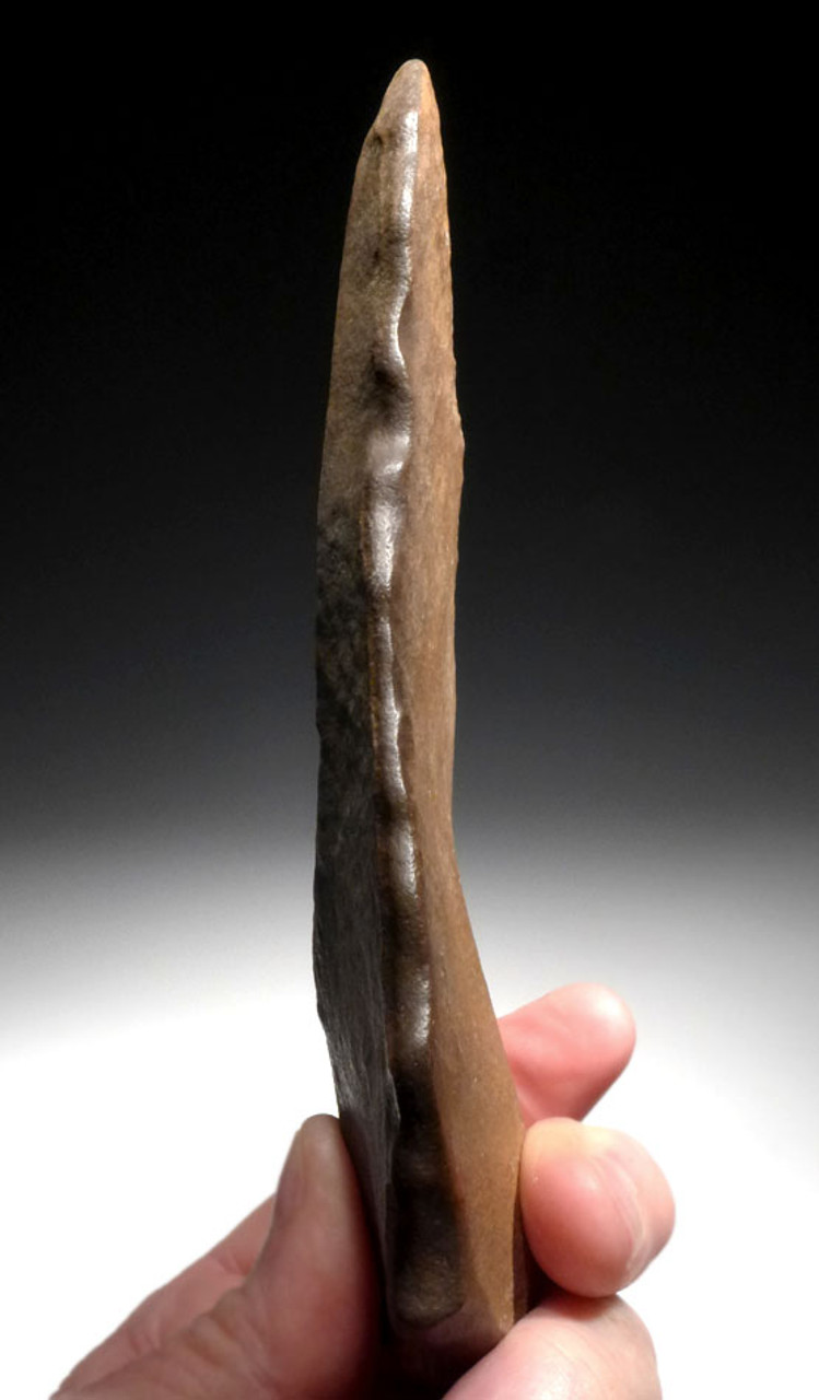 CHOICE LARGE HOMO ERECTUS STONE AGE FLAKE KNIFE FROM THE LOWER PALEOLITHIC OF AFRICA *ACH277