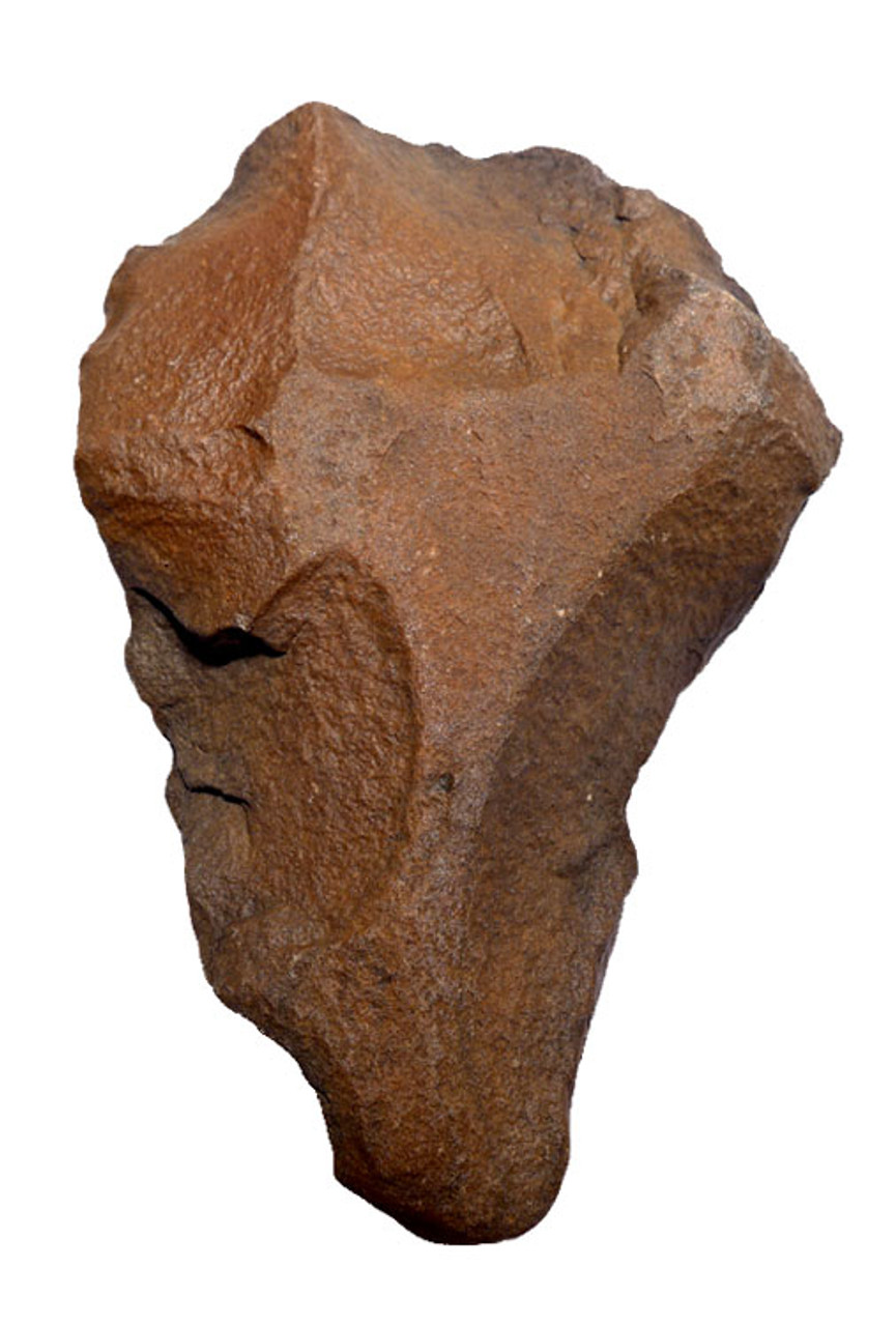 EXQUISITE ACHEULEAN QUARTZITE HAND AXE MADE BY HOMO ERGASTER WITH BONE PUNCTURING TIP *ACH234